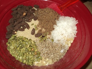 nuts, seeds, coconut